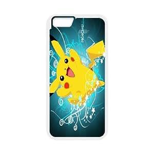 "JenneySt Phone CasePokemon Pikachu partern For Apple Iphone 6,4.7"" screen Cases -CASE-2"