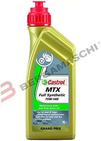 Castrol Synthese Getriebeöle Mtx Full Synthetic Sae 75w 140 1l Flasche Auto