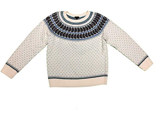 Talbots Women's Lambswool Nordic Sweater Crew Long Sleeve ()