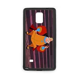 Samsung Galaxy Note 4 Cell Phone Case Black Disney Sleeping Beauty Character King Hubert 005 JSY4237091KSL