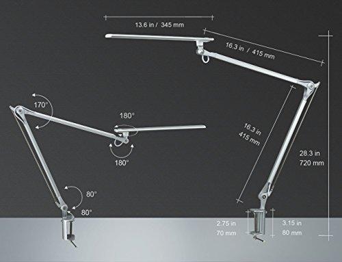Phive Cl 1 Led Architect Desk Lamp Clamp Lamp Metal