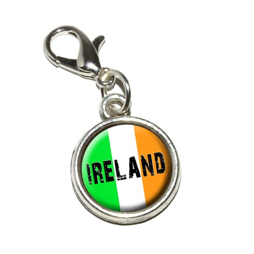 Graphics More Ireland Antiqued Bracelet