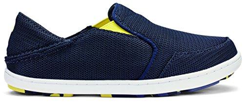 Boy's Olukai 'Nohea' Mesh Shoe, Size 6 M - Blue