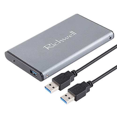 External Hard Computers SATA R2-SATA-160GB 160GB 2.5 inch USB3.0 Super Speed Interface Mobile Hard Disk Drive(Black) (Color : Grey) ()