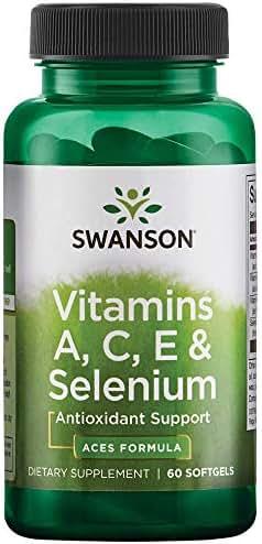 Swanson Vitamins A C E & Selenium (Aces) 60 Sgels