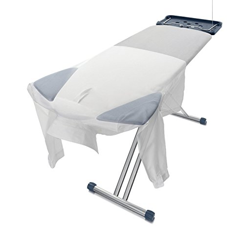 Parker & Company - The Pro Board, Extra Wide Ironing Board w/Unique Folding Shoulder Wings and 7 Other Convenient - Overlay Center