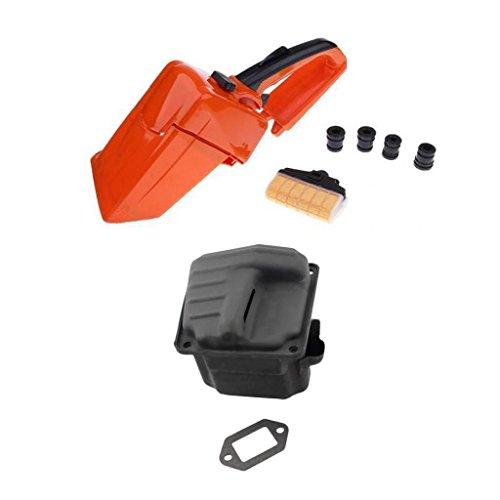 rear handle kits muffler dual