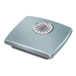 Soehnle Loupe Analogue Bath Scale with Magnified Enlarged Display - Silver