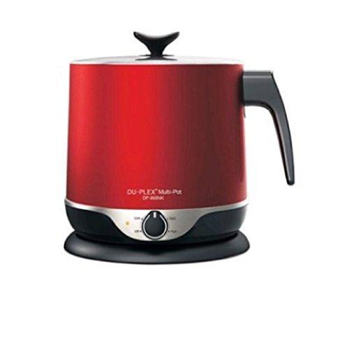 DU-PLEX DP-868NK. Electric Kettles. Ramen Pot. Cooking Pot. Camping Pots. RED. 220V ()