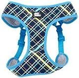 Coastal Pet Attire Dog XXS Blue Plaid wrap harness 14-16'' girth