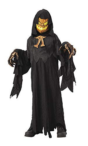 Creative Group Halloween Costumes 2019 (Rubie's Opus Collection Child's Possessed Pumpkinhead Costume,)