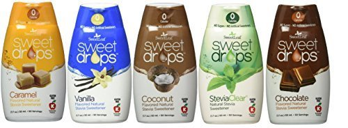 4. SweetLeaf – Sweet Drops Liquid Stevia Variety Pack