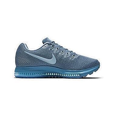 Nike Damen Zoom Alle Draußen Niedrig Blau Turnschuh 878671 400 ...