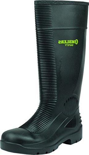 Incluye protector de pantalla Amblers de hombre de piel de aislante de acero FS100 de seguridad para hombre botas antideslizante de-ipad de zapatos pares