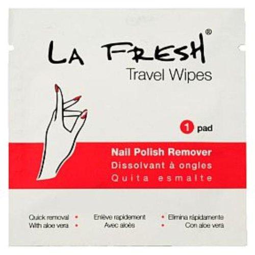 Amazon Com La Fresh Nail Polish Remover Pad Case Of 200 Beauty