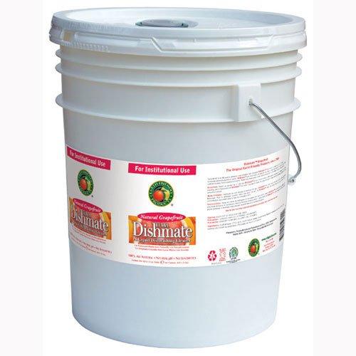 Dishmate Manual Dishwashing Liquid Grapefruit,5 gallon pail - 1 (Dishwashing Liquid 5 Gallon Pail)