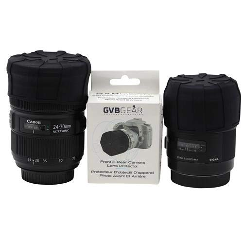GVB Gear GVBFBLP Front and Rear Professional Lens Protectors for DSLR and Mirrorless Lenses