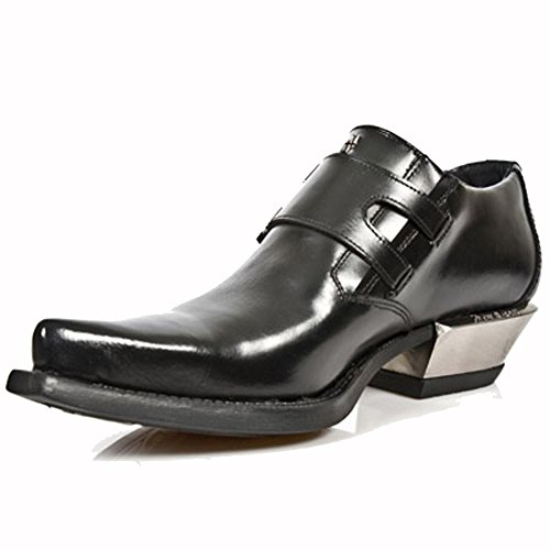 West 7934 M Pelle Nero Nero s1 Rock New Scarpe wY4qn