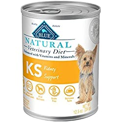 Blue Natural Veterinary Diet KS Kidney Support Canned Dog Food 12/12.5 oz