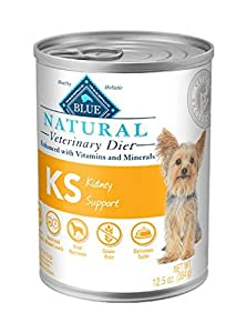 Blue Natural Veterinary Diet KS Kidney Support Canned Dog Food 12/12.5 oz