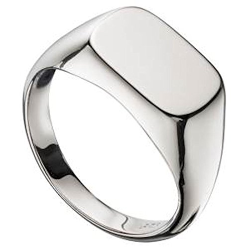 s solid silver signet ring sizes q up to z2 supplied