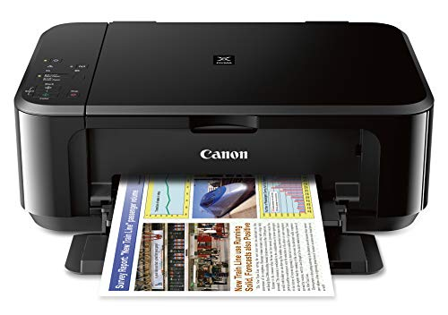 Canon PIXMA MG3620 Wireless All-In-One Color Inkjet Printer with Mobile and Tablet Printing, (Best Canon Wireless Color Printers)