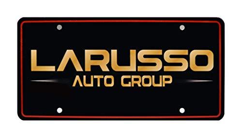 Celebrity Machines Cobra Kai   Ralph Macchio William Zabka   LaRusso Auto Group   Metal Stamped Vanity Prop License ()
