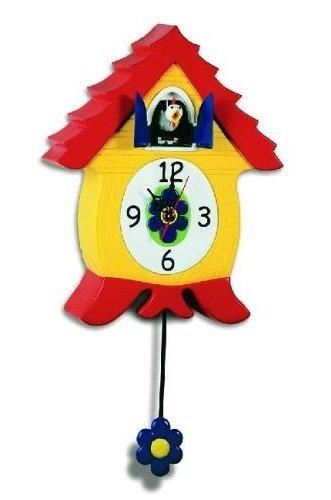 Headup Design Co. - Cluckcoo Clock - Cooclock Heads Up Design 70409 70409-1/CluckCoo