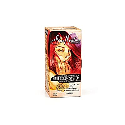 Shea Moisture Hair Color System - BRIGHT AUBURN