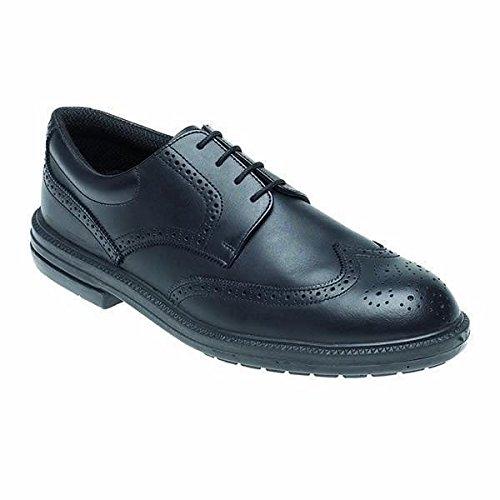 Toesavers 912-9 doppia densità per scarpe di sicurezza con intersuola in acciaio, taglia 43, colore: nero