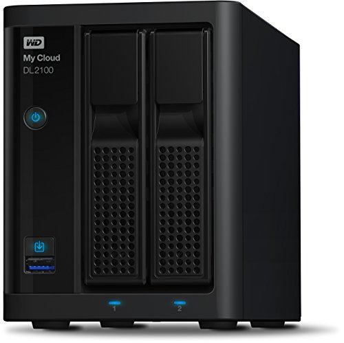 Western Digital Diskless My Cloud DL2100 Business Series NAS Festplatte - LAN - WDBBAZ0000NBK-EESN