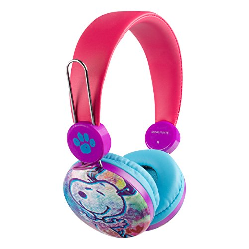 Over the Ear Kids Safe Headphones (Peanuts)
