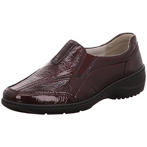 143 Kya Women's Waldläufer Loafer Flats 053 607504 Red pP1nwvAqn