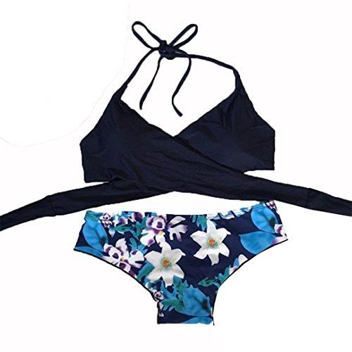 Ropa de baño, FAMILIZO Mujeres Traje De BañO De Bikini Conjunto De Mujeres Push-Up Traje De BañO Acolchado De SostéN Ropa De Playa