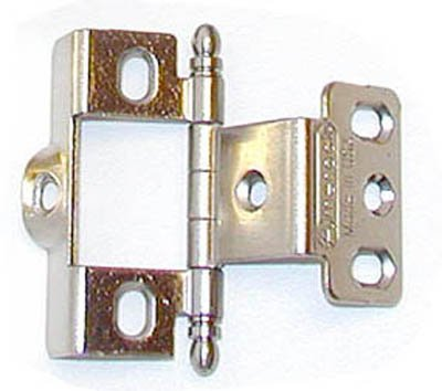 Amerock Full Inset Full Wrap Free Swinging Ball Tip Hinge For 3/4u0026quot;  Doors
