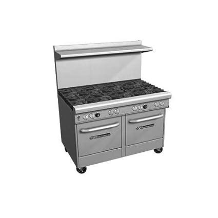 """Southbend 400 Series Ultimate Restaurant Range 48"""" 6 Burner Standard Oven - 4484DC-7R"""