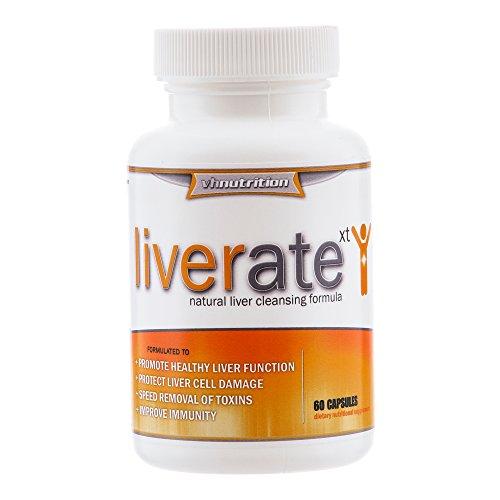 LiverateXT | Hígado, limpiar desintoxicación pastillas | Suplementos y vitaminas naturales de limpieza