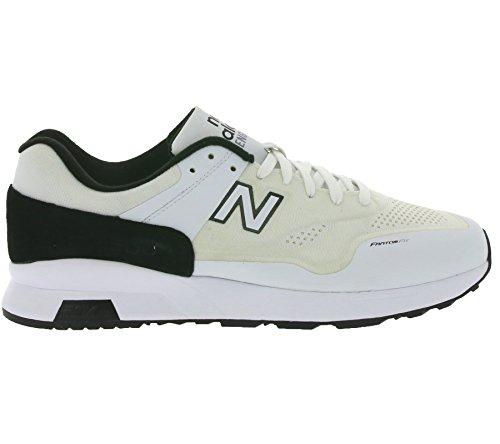 Mens Chaussures De Sport, Blanc, Marque Nouvel Équilibre, Modèle Mens Chaussures De Sport New Balance Md1500 Blanc Fw