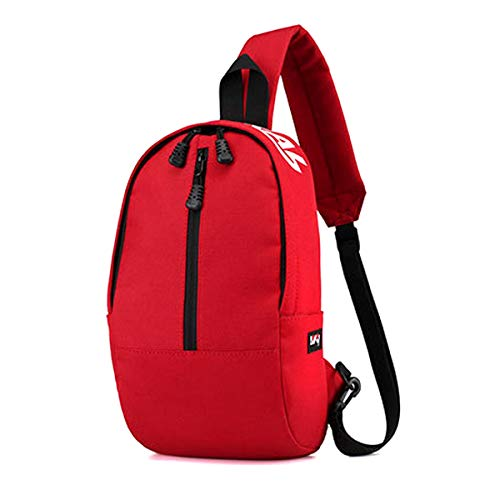 Defeng Shoulder Red Men Pouch Women Chest Lightweight Cross Canvas Multipurpose and Bag body Sport Backpacks for Daypacks rHqO5rAw
