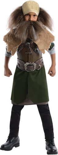 [The Hobbit, Deluxe Dwalin Costume - Medium] (Hobbit Kids Costumes)