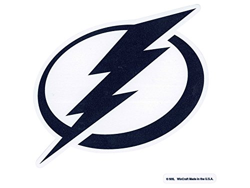 (WinCraft NHL Tampa Bay Lightning Perfect Cut Color Decal, 8