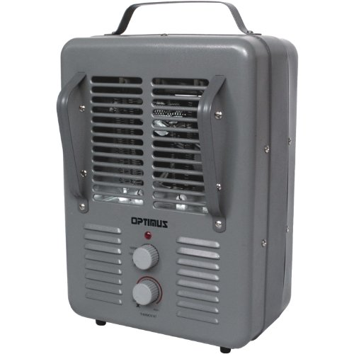 Optimus H-3013 Portable Utility Heater with Thermostat (Space Heater Utility compare prices)