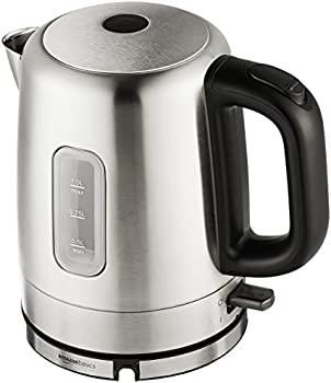 AmazonBasics 1 Litre Stainless Steel Electric Kettle