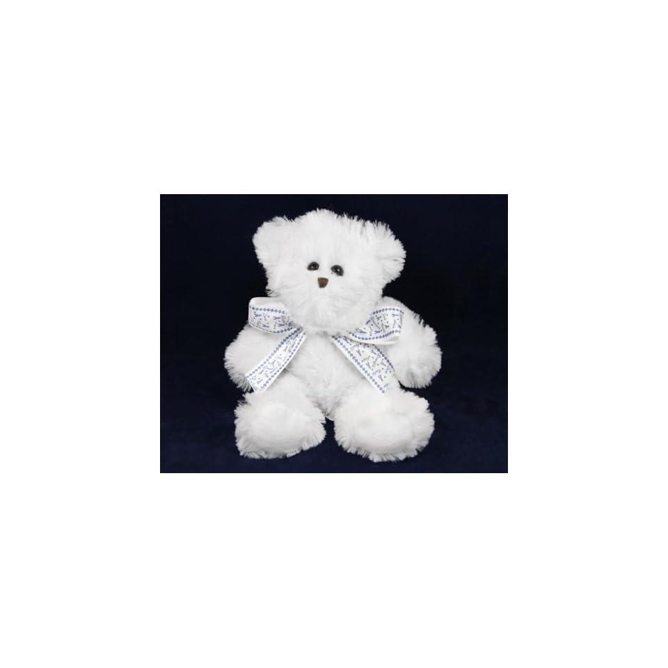Teddy Bear with Ribbon   Dark Blue Ribbon (RETAIL)