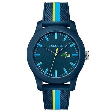 10678dcae6e Relógio Lacoste Masculino Borracha - 2010930  Amazon.com.br  Amazon Moda