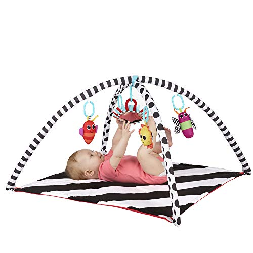 Sassy Black & White Tummy Time Playmat