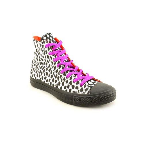 Nero Ox Ani Black Sneaker Taylor donna Converse Chuck Print White Sx0wqnIEZO