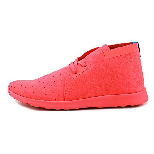 Native Mens Apollo Chukka Fashion Sneaker Snapper Red / Snapper Red