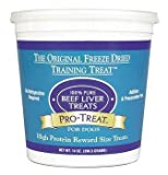 Pro-Treat Freeze Dried Beef Liver Dog Treats 14 oz., My Pet Supplies