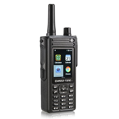 Ship from CA,US Radio-tone RT4 4G LTE Android 6.0 WiFi PTT Zello azetti Smartphone Interphone ()